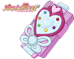 HaCha PreCure - PreChan Mirror HD with lines by NelaNequin