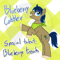 MLP: Blueberry Cobbler by atomic-kitten10