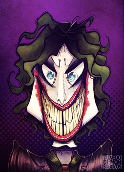 Joker. by TuxedoDemon