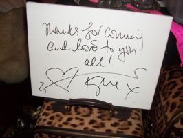 Message From Kylie Minogue by hot-stuff123
