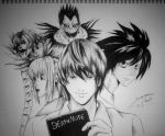 Death Note by Mixielion