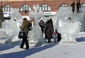 Ice roosters by saltov-man