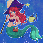 Trick or Treat Under the Sea by Shmell0w