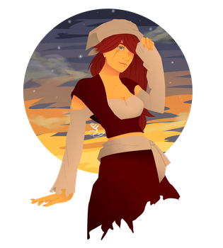 Pirate Woman by cranberryroses