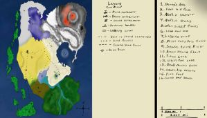Labled map of Artreus by AkitaHaru