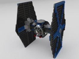 Lego TIE Fighter by MrElusive777