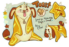 Butter me pup! by Colonels-Corner