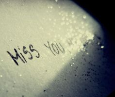 Miss you.. by Inutilll