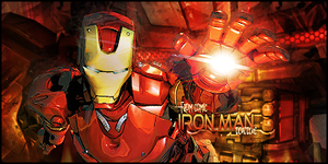 Iron Man - From comic by Tortuegfx