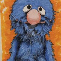 Grover ACEO  Sketch Card by rodneyfyke