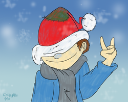 Happy Chris-Mas by qwertypictures