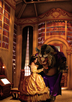 :Disney's Belle and the Beast: by Lil-Kute-Dream