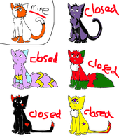 FREE ADOPTS CLOSED by Jezzycat202