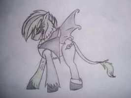 Madgenius908 pony rough draft by Briannathewingedwolf