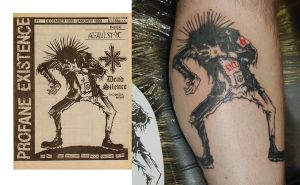 Punk Fanzine Tattoo by yayzus