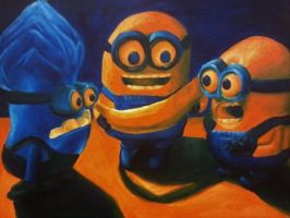 Minions by Camberlee
