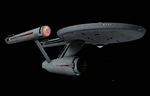 USS Enterprise Ship's Portrait by viperaviator