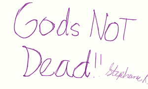 GODS NOT DEAD! (based from the movie) by mangaaddict300