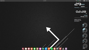 Elementary OS Linux by ninuun23