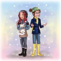it's snow by red3erry