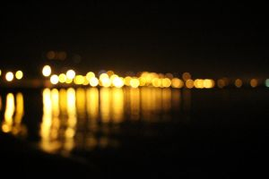city lights bokeh by ZedLord-Art