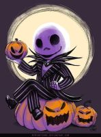Jack Skellington by MymyArtzone