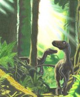 Deinonychus by BlakerOats