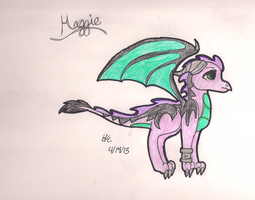 Dragon Maggie by Azul-Assassin