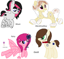Theme Adopts 1-4 by pixieadopts