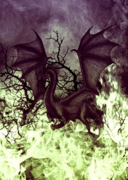 Dragon #2 : Maleficent by SeigneurNazgul