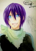 Yato from Noragami by defeatednazigeneral