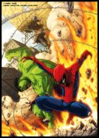 Colours- SpideyUK 170 cover by JasonCardy