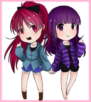:Request: Umi and Kyouko by Estelle-Chan