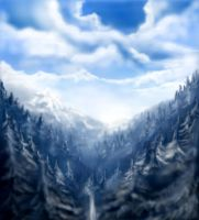 Winter - Landscapes of Remembr by darkmaster-art