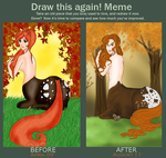 Draw This Again: Ginger by MissFuzzbutt