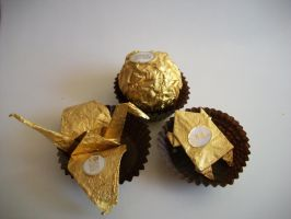 Fun with Ferrero Rocher by mumbleberrystew