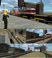 MMD Model Review - MMD Freight Yard by Trackdancer