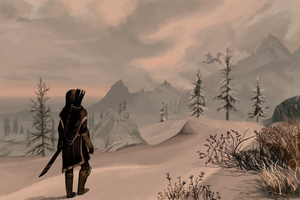 Skyrim by Arcopaglia