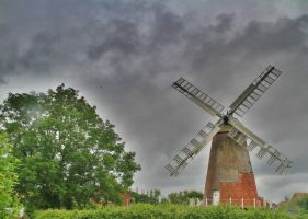 Windmill by Tiger--photography