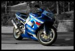 GSXR-750 New Turns 2 BW by Faithfull-Surrender