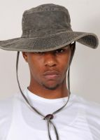 Portrait With Hat by cable9tuba