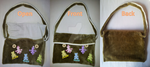 Cute furry handbag (handmade) by DecorumDreams