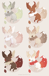 Flame Tailed Jackalopes (2/6 OPEN) by alikapearl