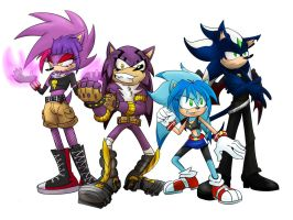 The hedgehog kids by Emerl-lad12