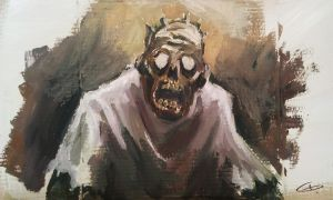 zombie by morye