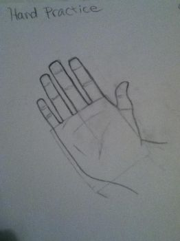 First Hand Practice by greenappaloosa