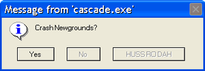 Error Message - Message from 'Cascade.exe' by GMYumil