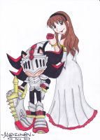 KNIGHT AND MAIDEN by 7marichan7