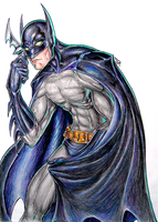 Pin The Bat Symbol On -color- by dpdagger