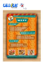 menu restarurante mexicano by aj79